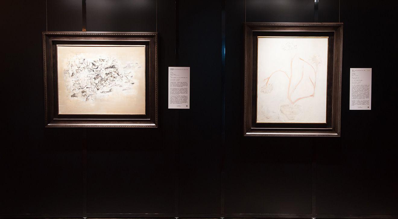羅芙奧展出趙無極與常玉的畫作