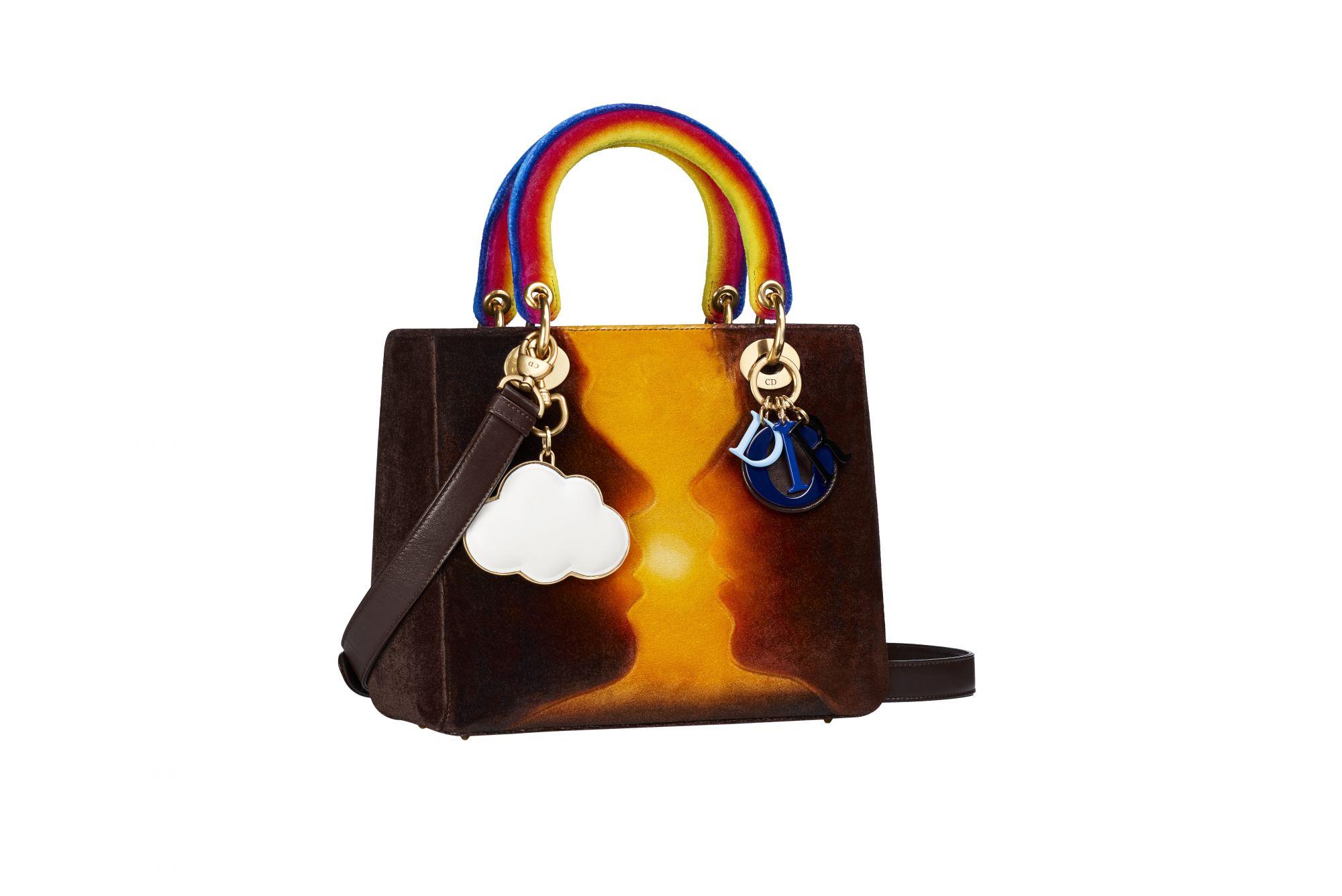 c562246154d The Lady Dior bag designed by Friedrich Kunath - Dior Lady Art #2. Photo