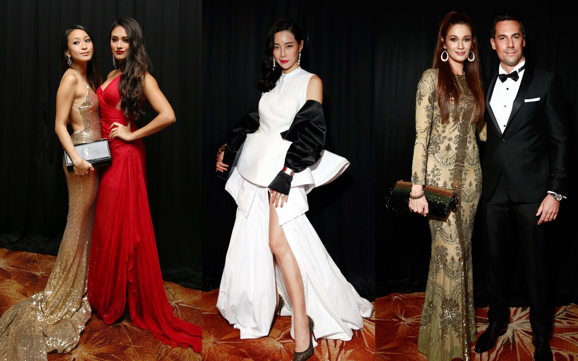 Best dressed men and women at the Malaysia Tatler Ball 2017