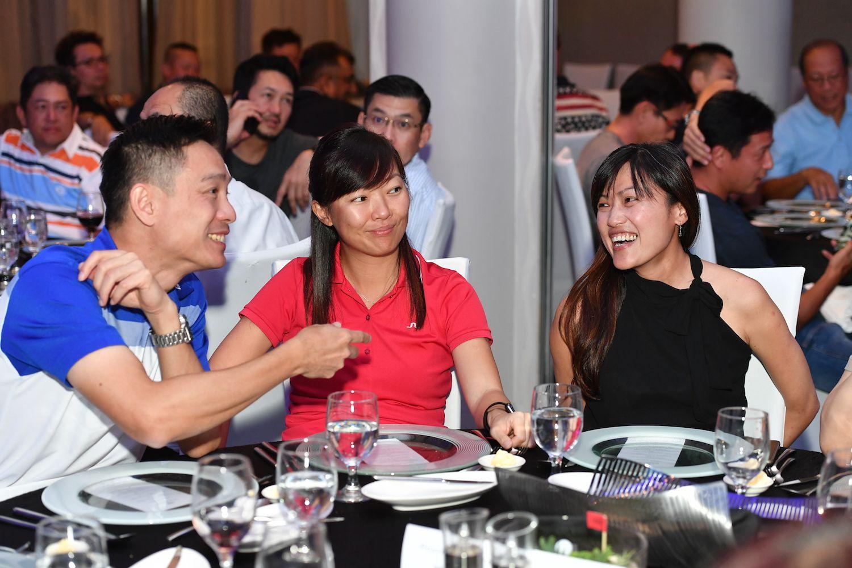 Jackson Goh, Aris Tan, Yvette Lau