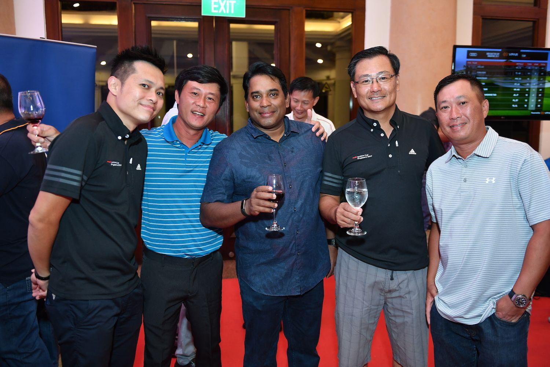 Lee Nian Tjoe, Lim Joo Seng, Arivazagan Raju, Collin Tan, Jeffrey Goh