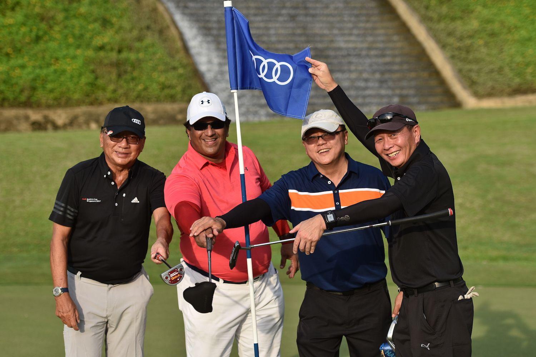 San Mun Lock, Roy Phillips, David Foo, Tan Kian Keow