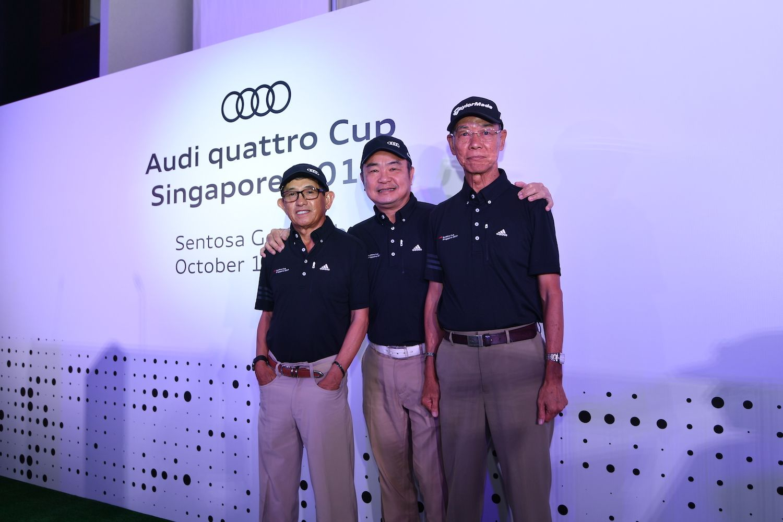 Stephen Koh, Samuel Tay, Johnny Lee