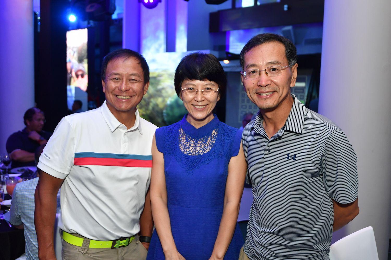 Thomas Aw, Tracy Cui, Nick Xue