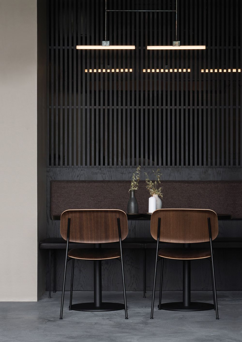 The Nærvær restaurant in Copenhagen, designed by Norm Architects