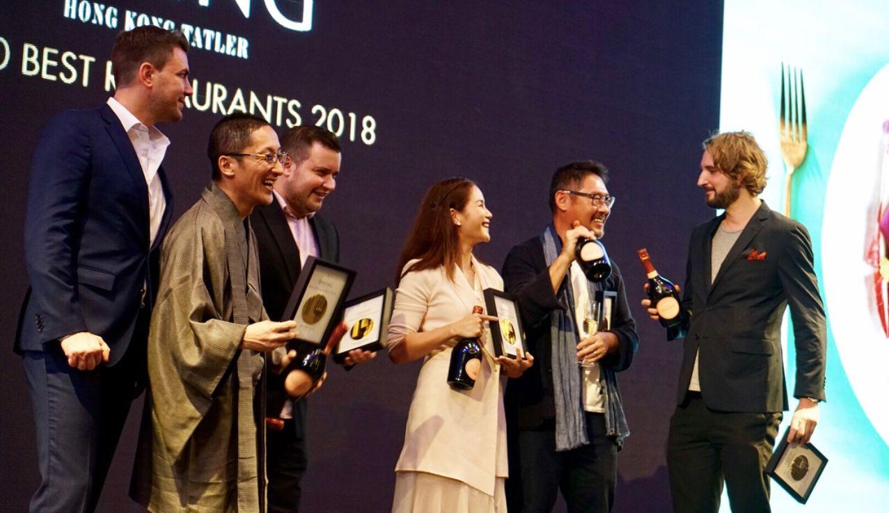 Tatlergram: Best Images From the #TDiningHK2018 Restaurant Awards
