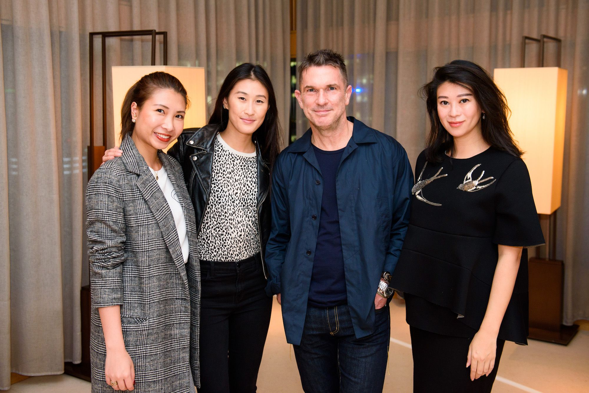 Rosana Lai, Justine Lee, Christopher Jackson, Christy Liang