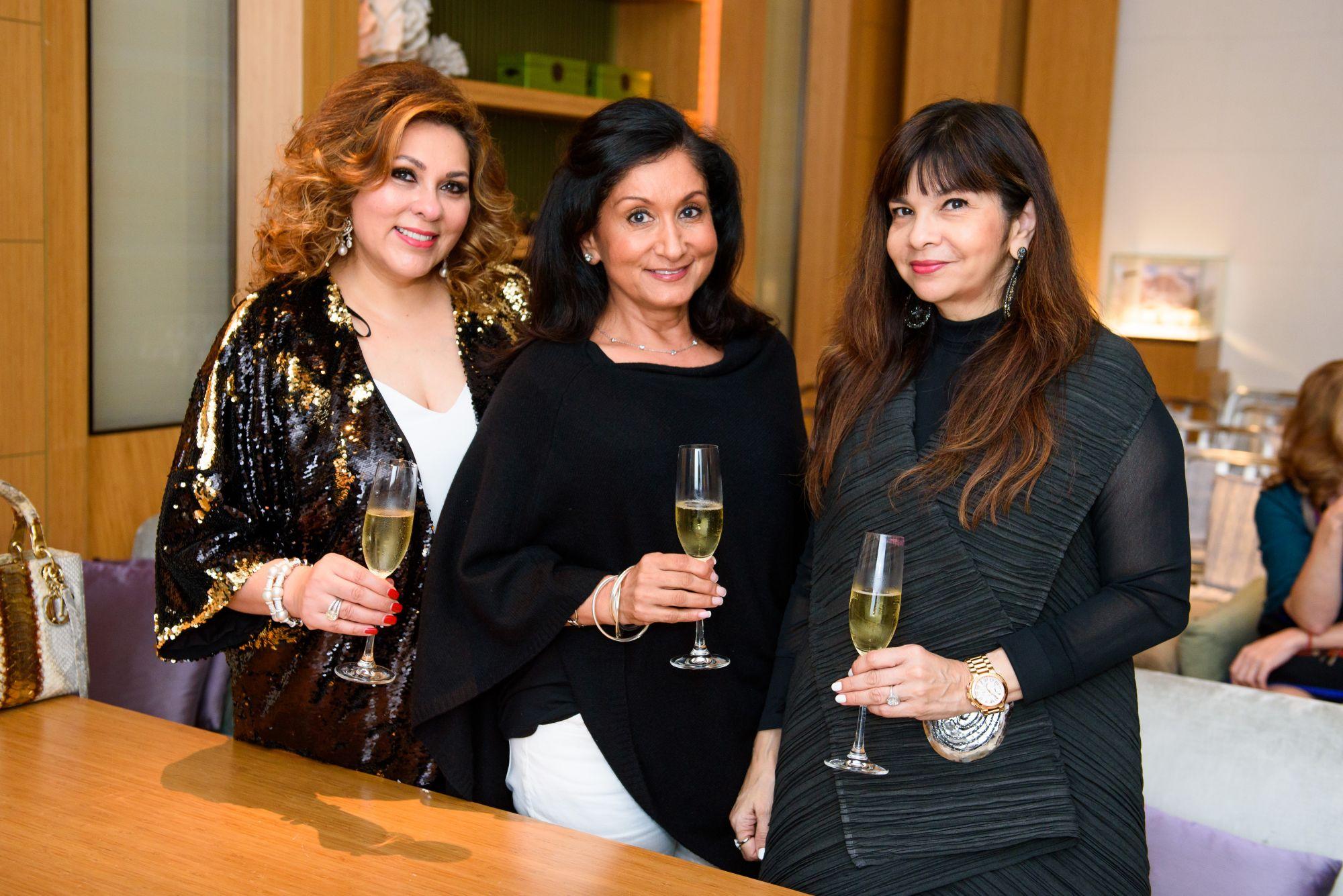 Rina Wadhwani, Abha Kopp, Sandra Spence
