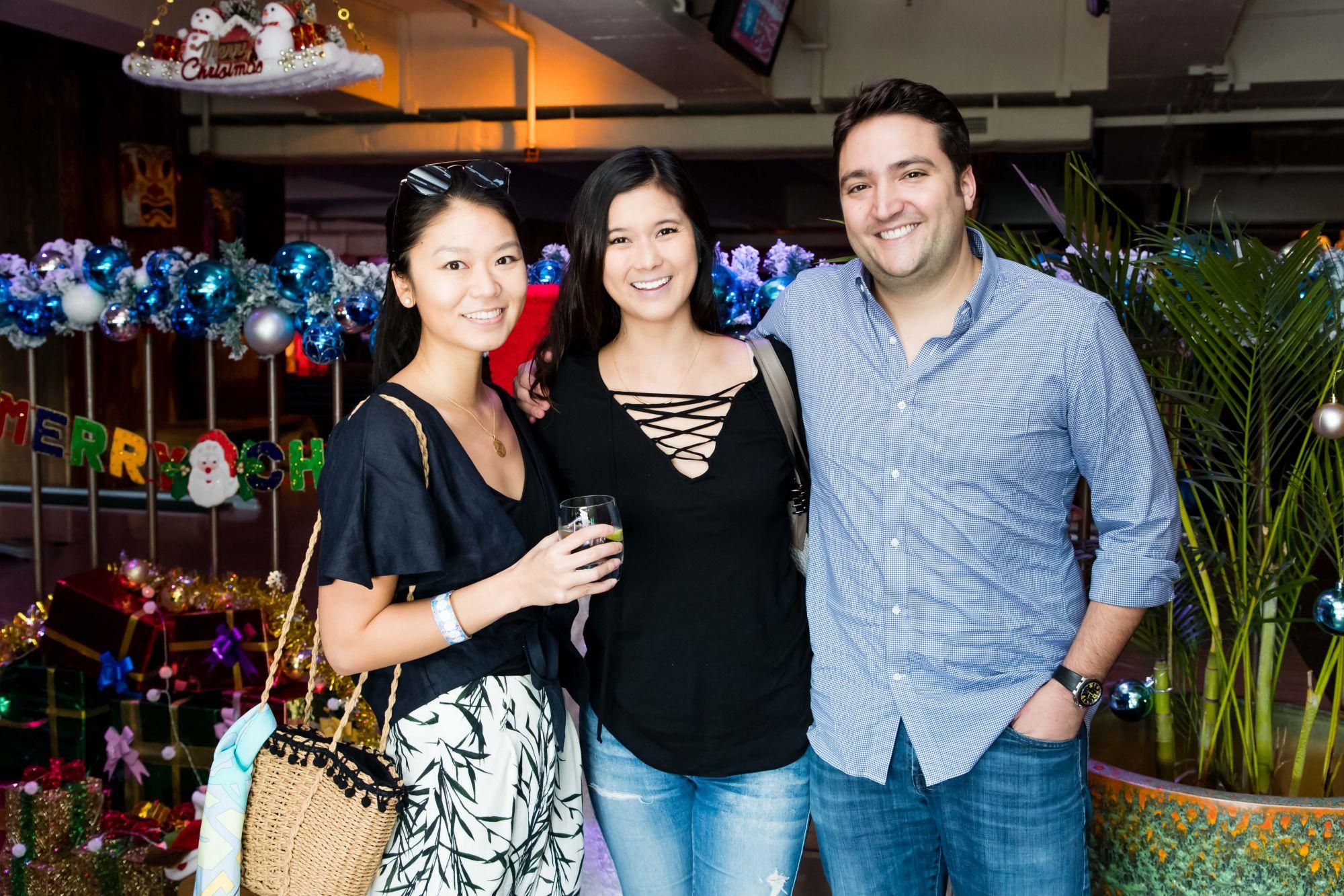 Tania Tsang, Kelly Oki, Nathan Saper