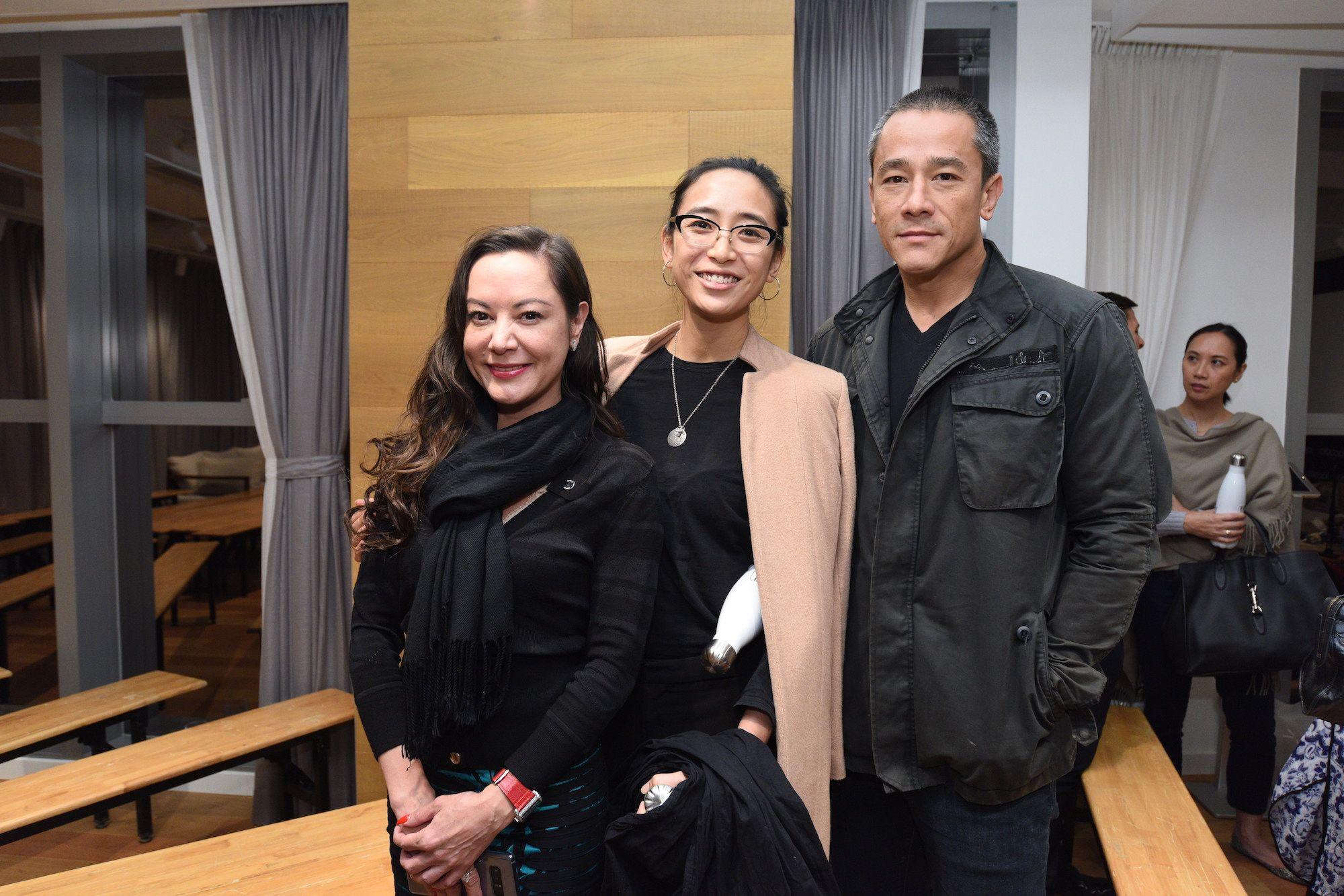 Amanda Lui, Angela Goh, Carl Ng