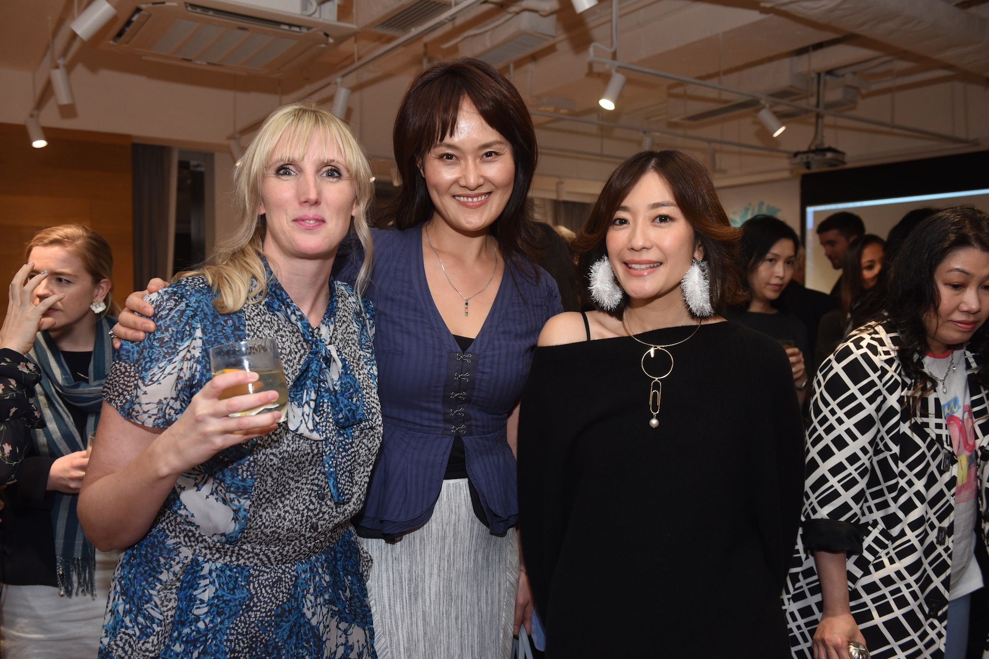 Laura Derry, Julie Lee, Nicola Cheung-Young