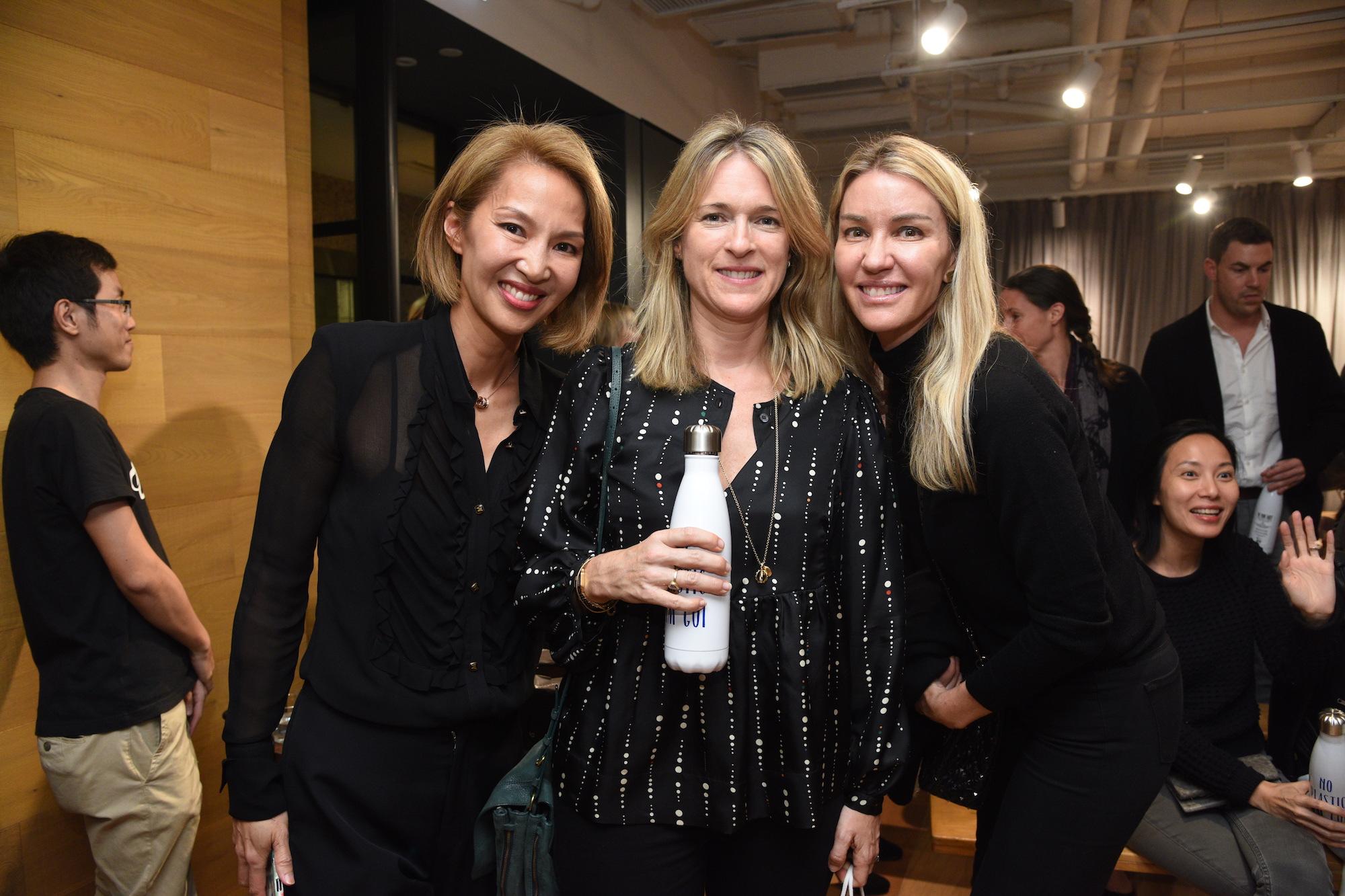 Yolanda Choy-Tang, Martha Keswick, Lucy Bond-Marriott