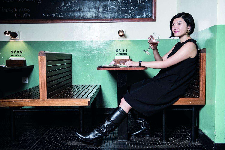 Betty wears the Flatscrunchy boots by Stuart Weitzman (Photos: Moses Ng/Hong Kong Tatler)