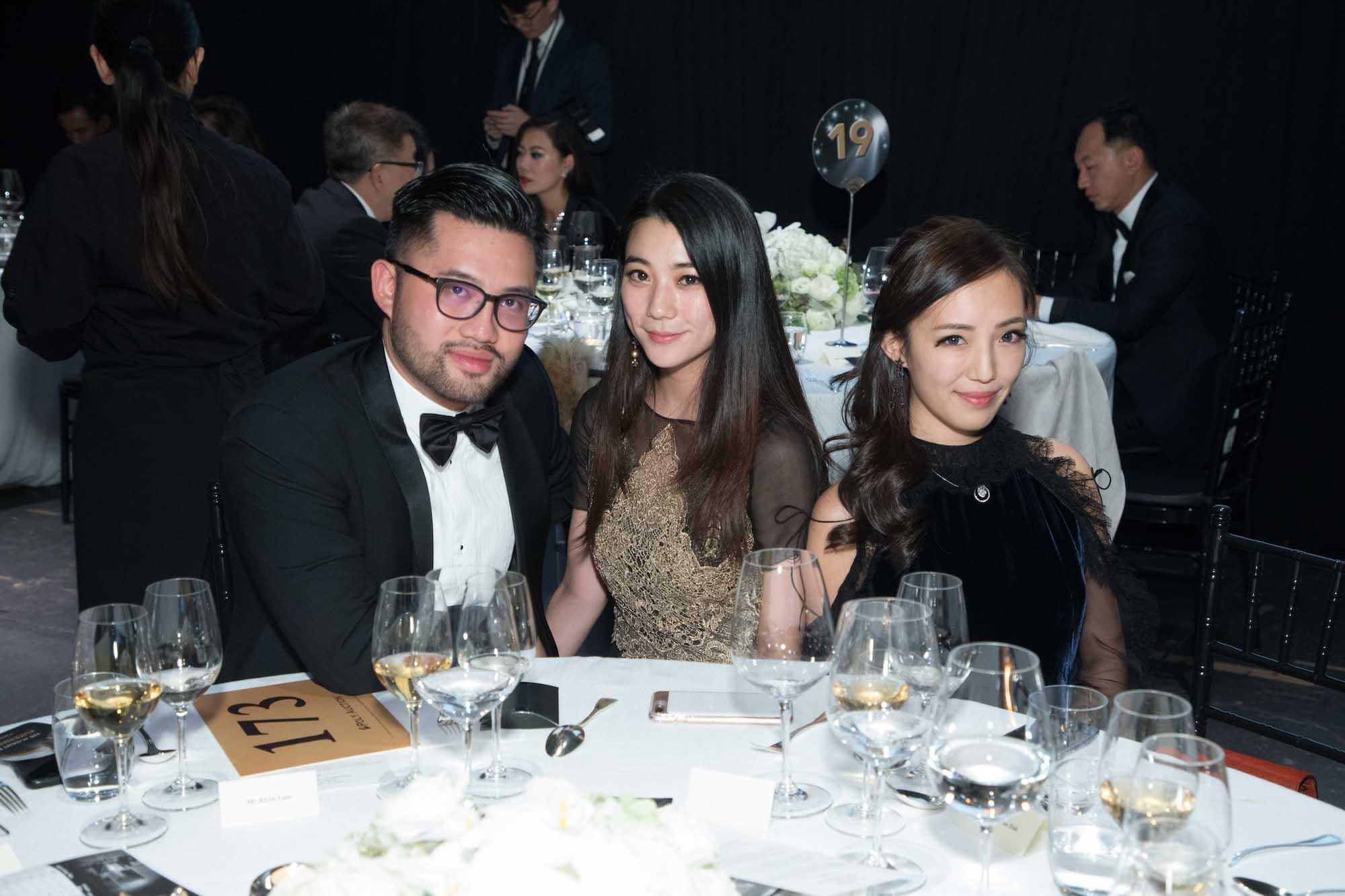 Alvin Lam, Vincy Yeung, Christine Fok