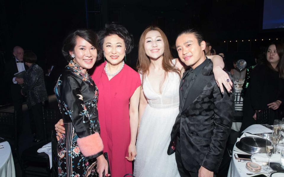 Charmaine Ho, Sophia Kao-Lo, Sabrina Ho, Jonathan Cheung