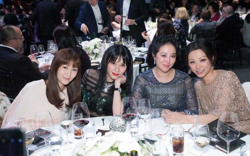 Helena Pong, Ada Wang, Sabrina Chao, Michelle Cheng-Chan