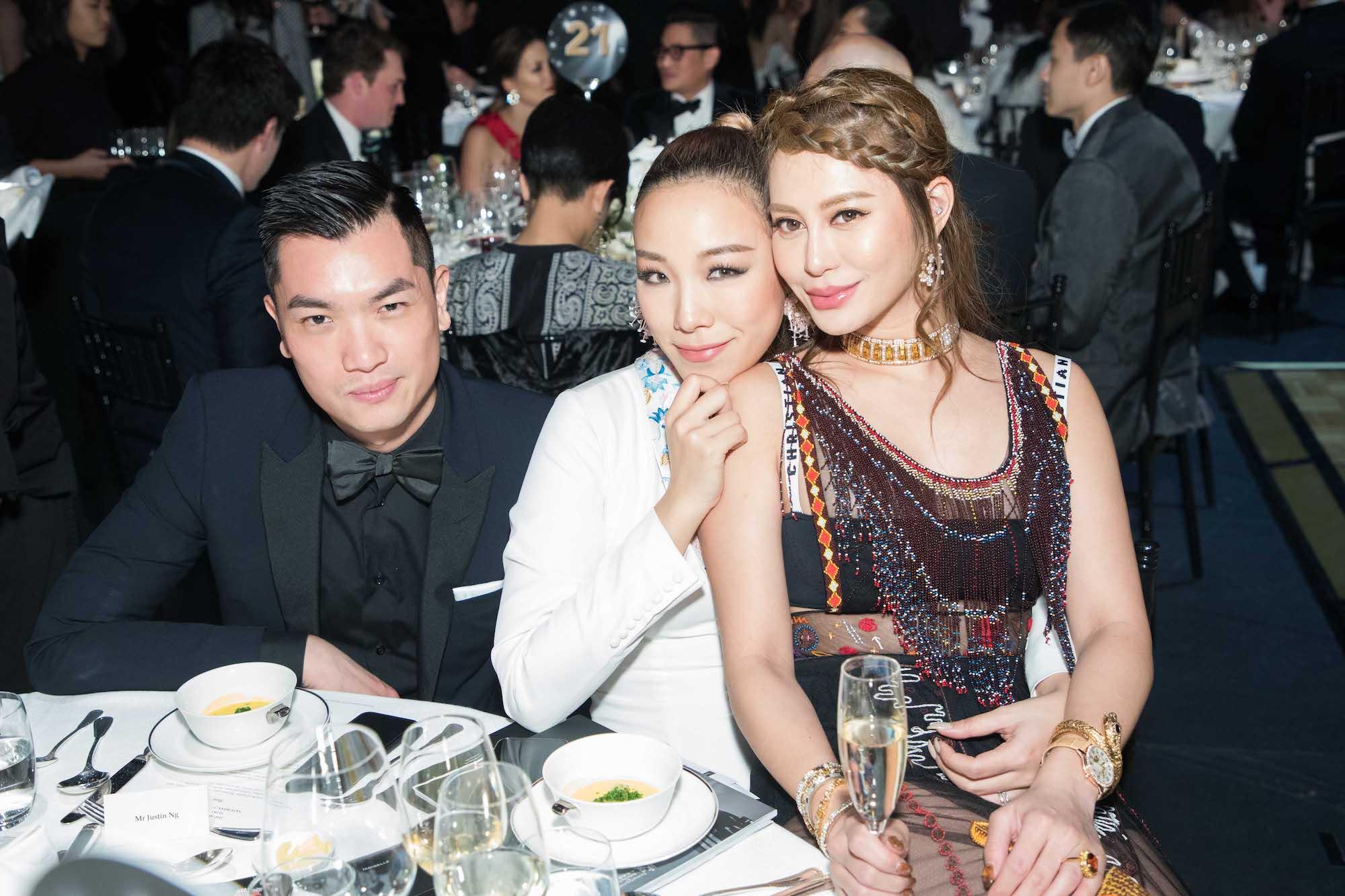 Justin Ng, Feiping Chang, Eleanor Lam