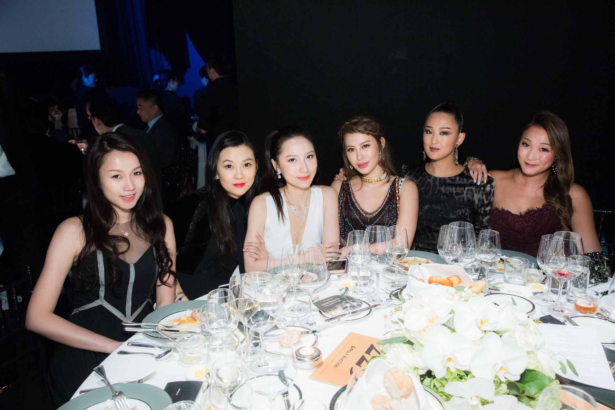Mercury Kwok, Melissa Zuo, Christine Wan, Eleanor Lam, Antonia Li, Caroline Li