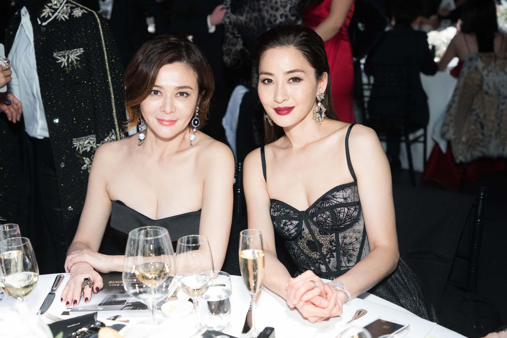Rosamund Kwan, Kathy Chow