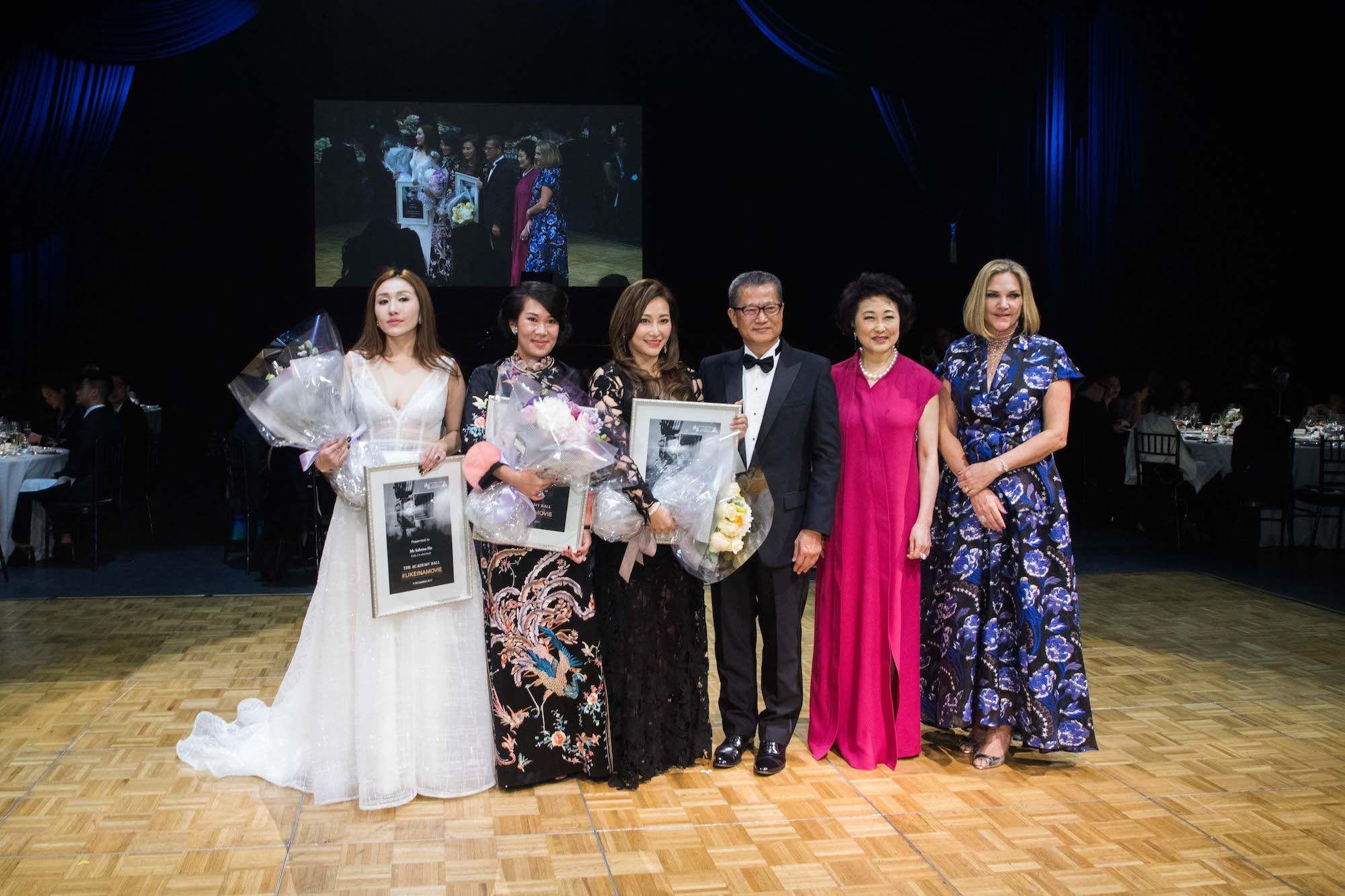 Sabrina Ho, Charmaine Ho, Winnie Chiu, Paul Chan, Sophia Kao-Lo, Alison Luscher