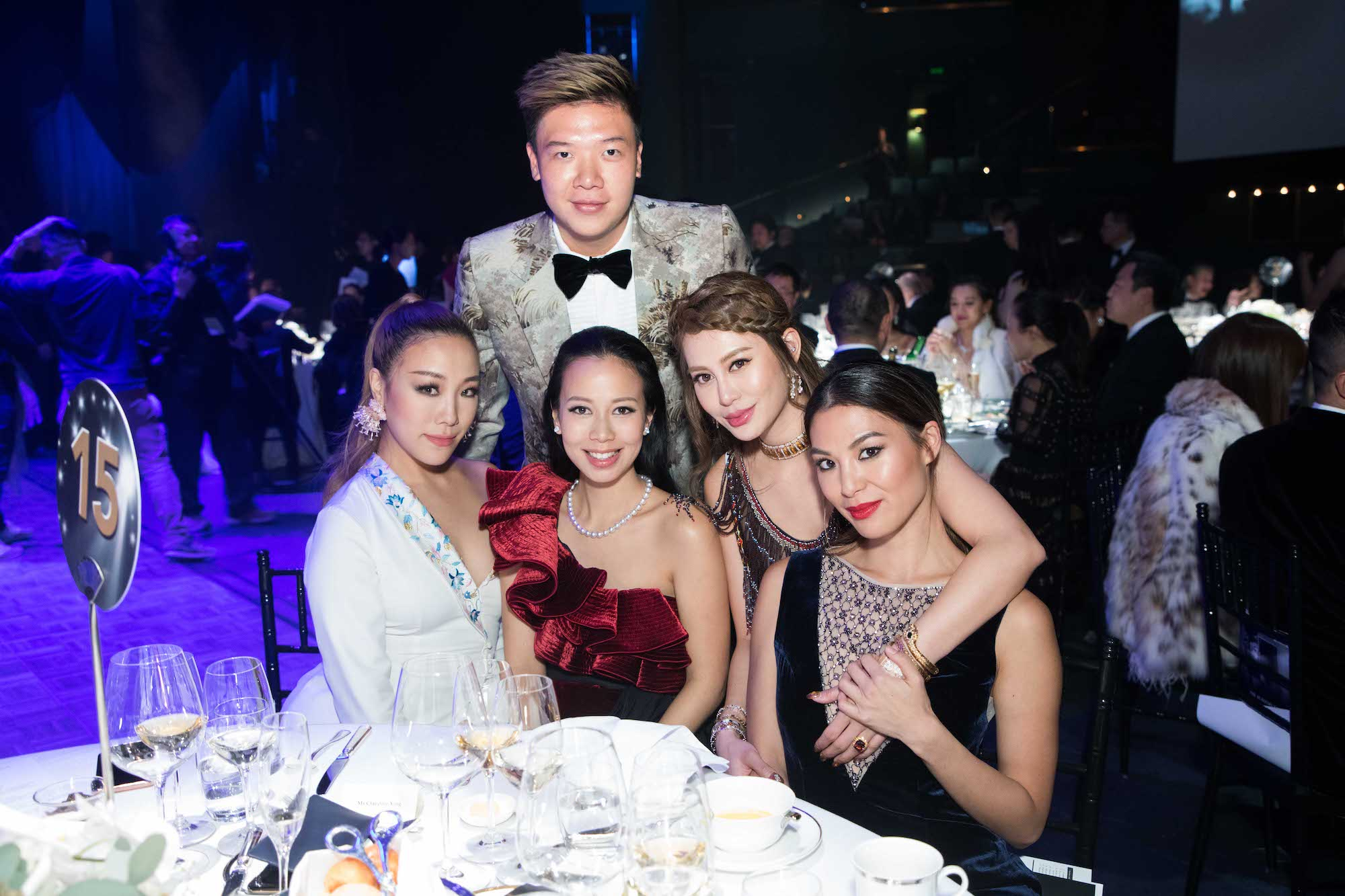 Standing: Elson Luk Seated: Feiping Chang, Claudine Ying, Eleanor Lam, Alison Chan-El Azar
