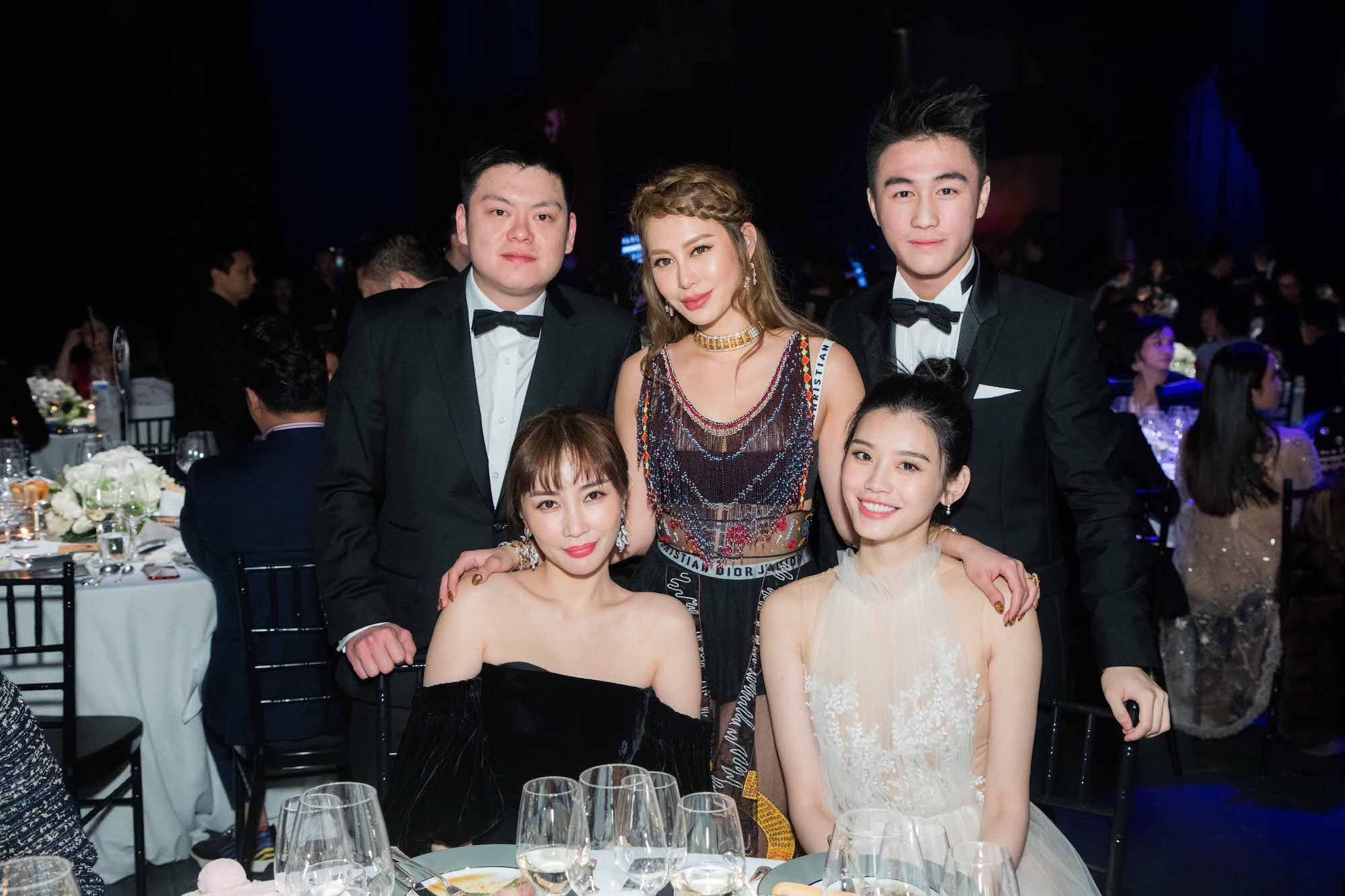 Standing: Lucas Lam, Eleanor Lam, Mario Ho Seated: Kylie Ying, Ming Xi