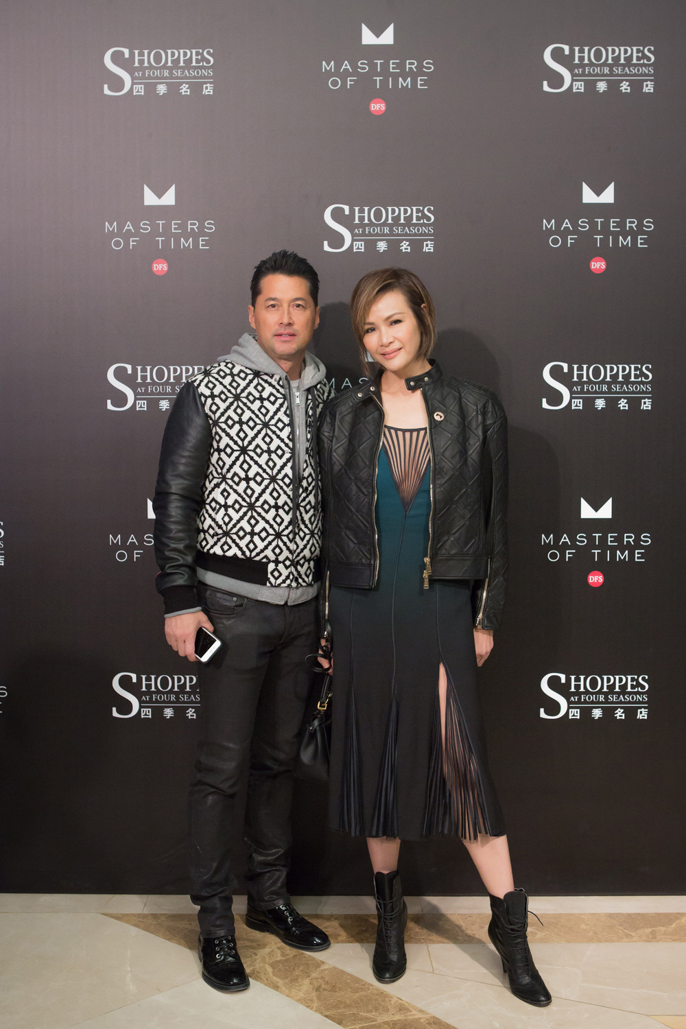 Michael Wong and Janet Ma