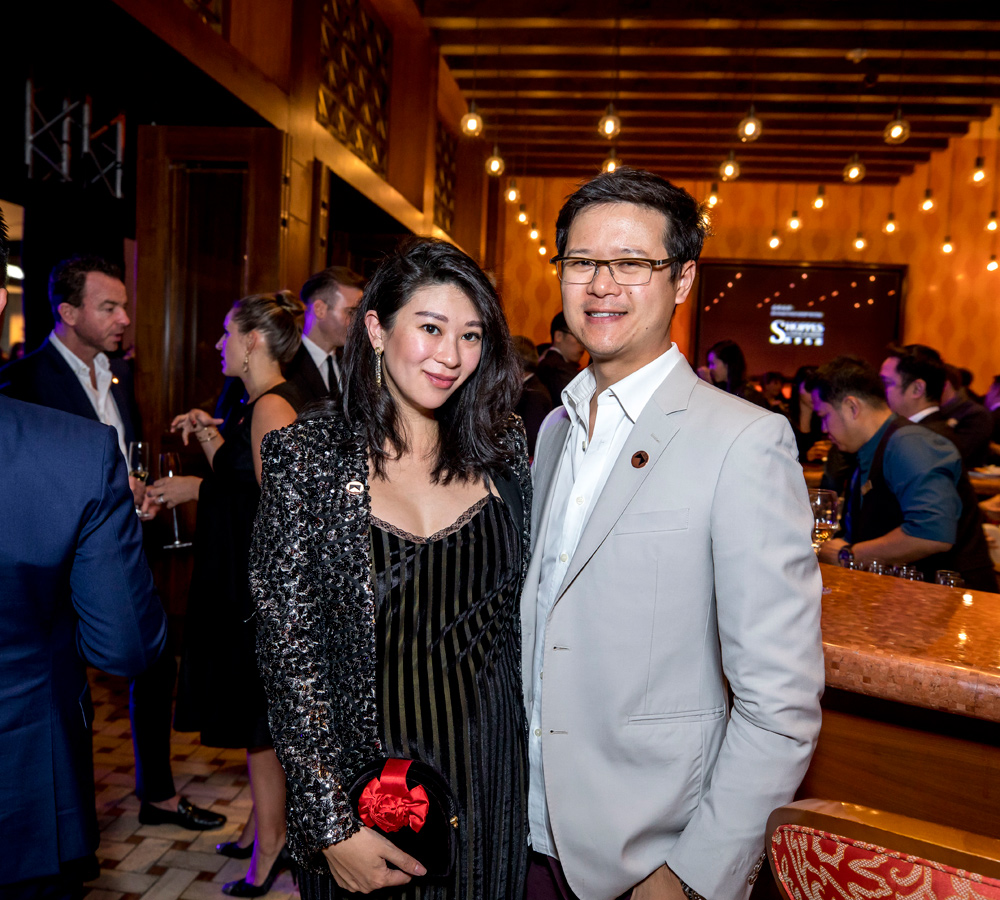 Christy Liang and Ben Liang