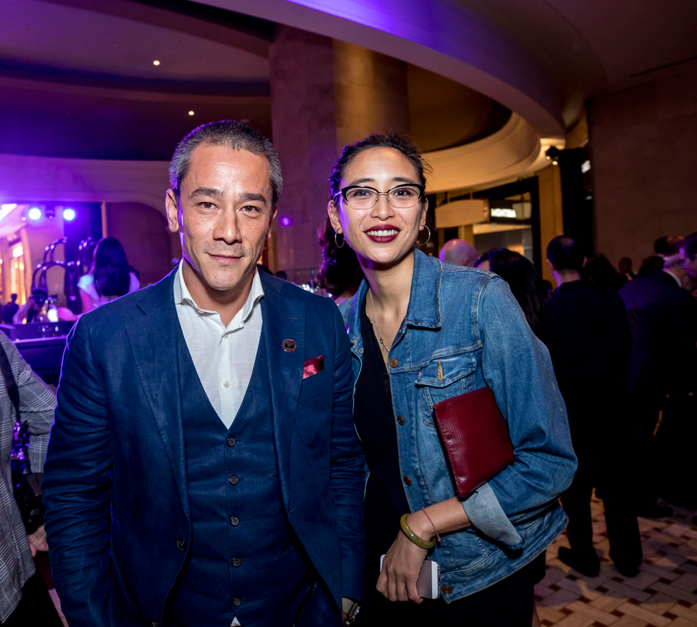 Carl Ng and Angela Goh