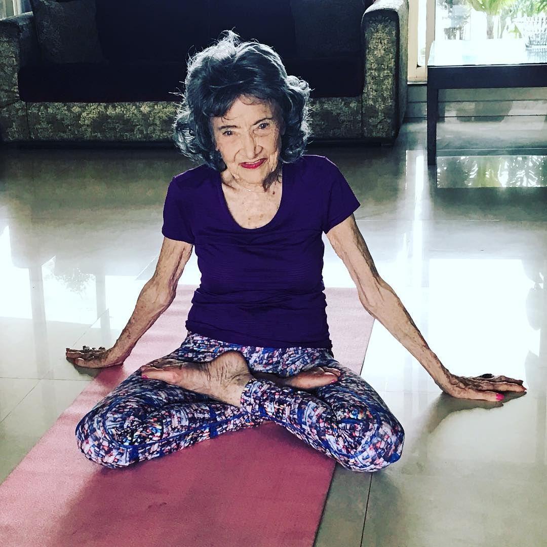 10 Questions With Tao Porchon Lynch The World S Oldest Yoga Teacher Tatler Hong Kong