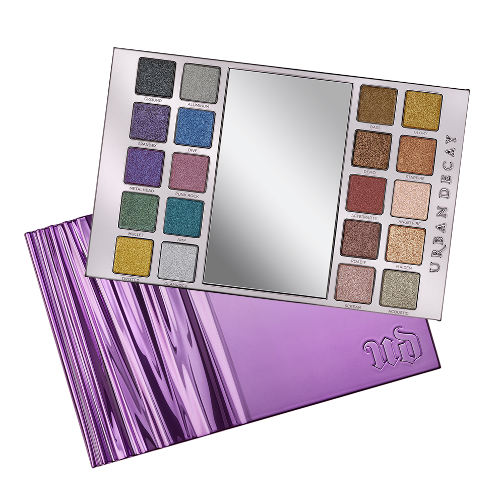 Limited Edition Heavy Metals Metallic Eyeshadow Palette by Urban Decay