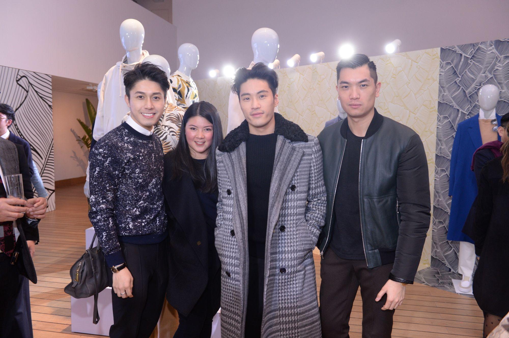 Edwin Pun, Amy Lee, Loui Lim, Justin Ng