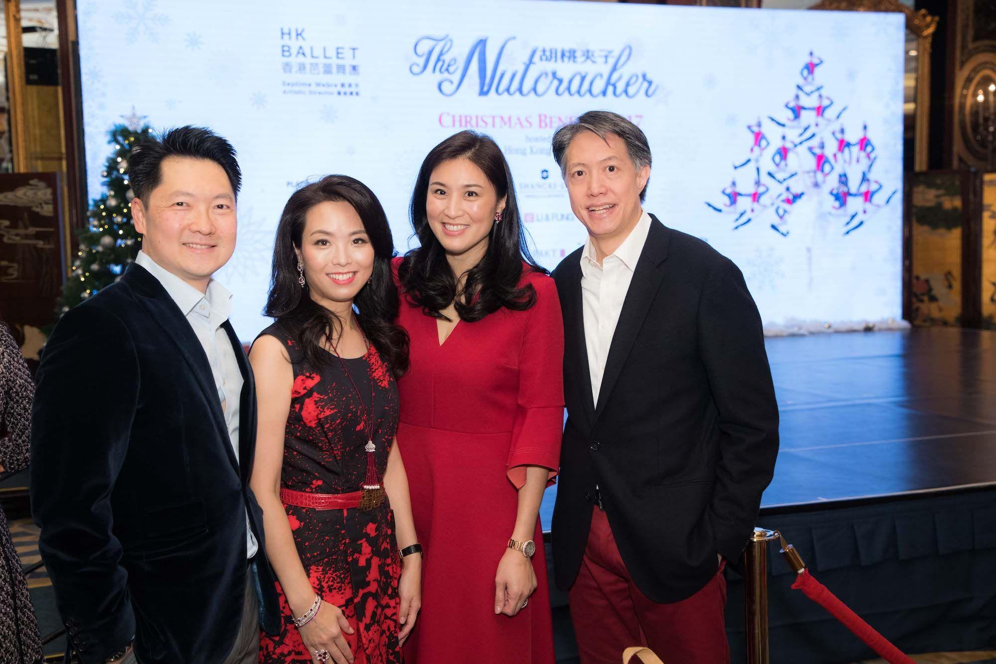 Julian Liu, Anne Wang-Liu, Leigh Tung-Chou, Stanley Chou