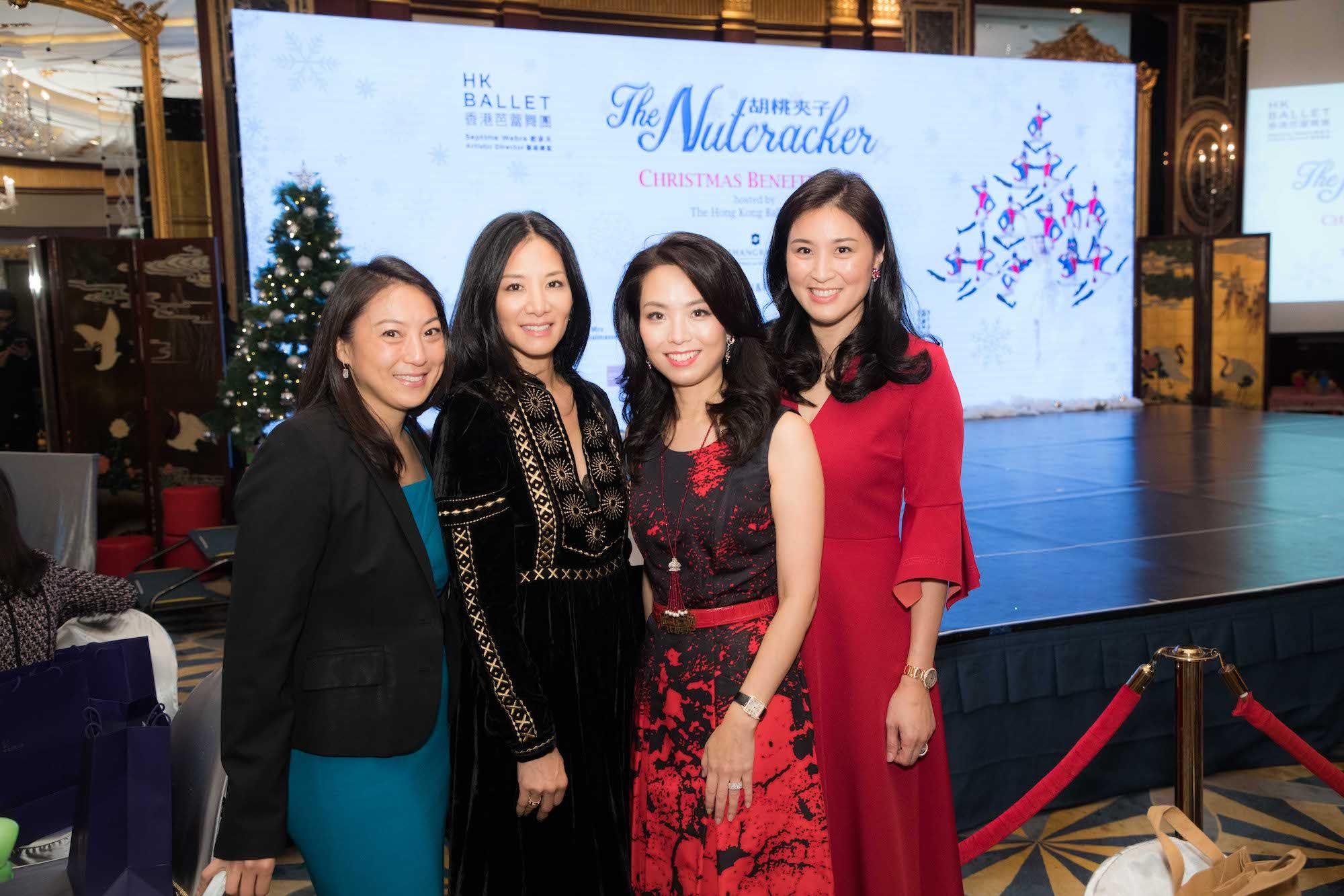 Pamela Tung, Audry Ai-Morrow, Anne Wang-Liu, Leigh Tung-Chou