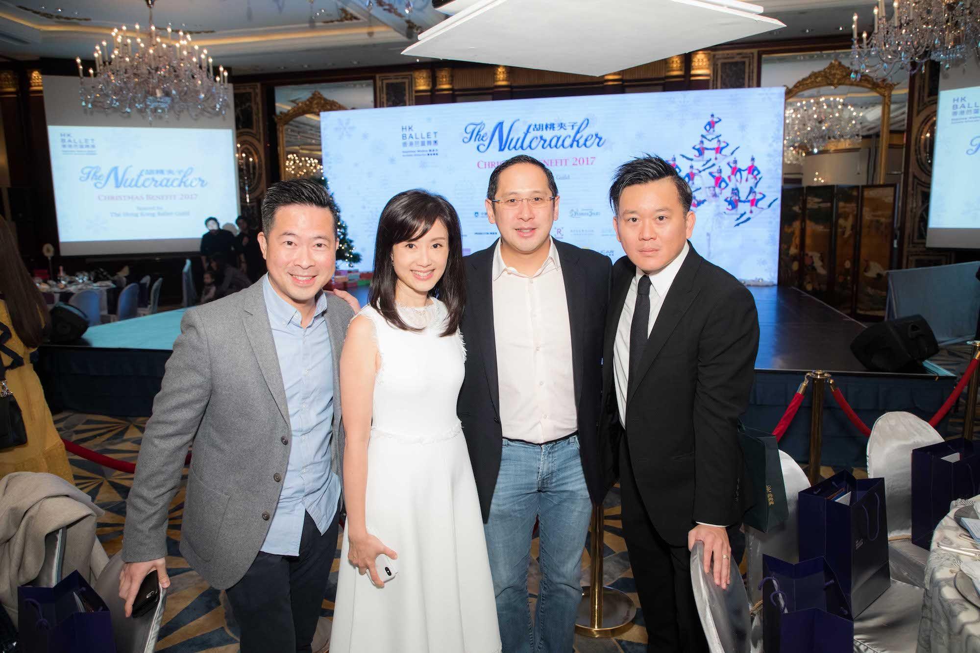 Quinton Lu, Liana Yung-Yeung, Spencer Fung, Derek Yeung