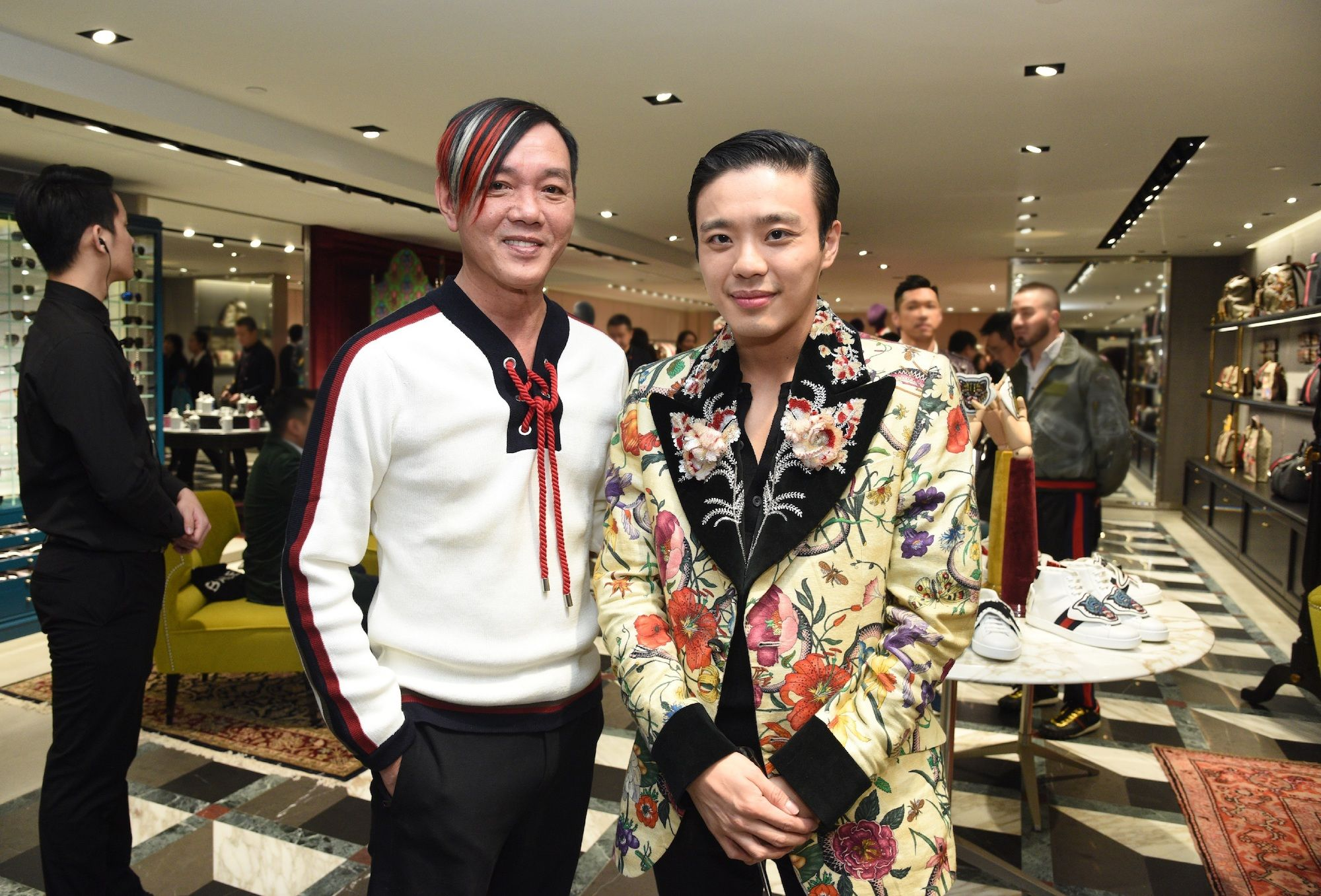 Stephen Hung, Jonathan Cheung