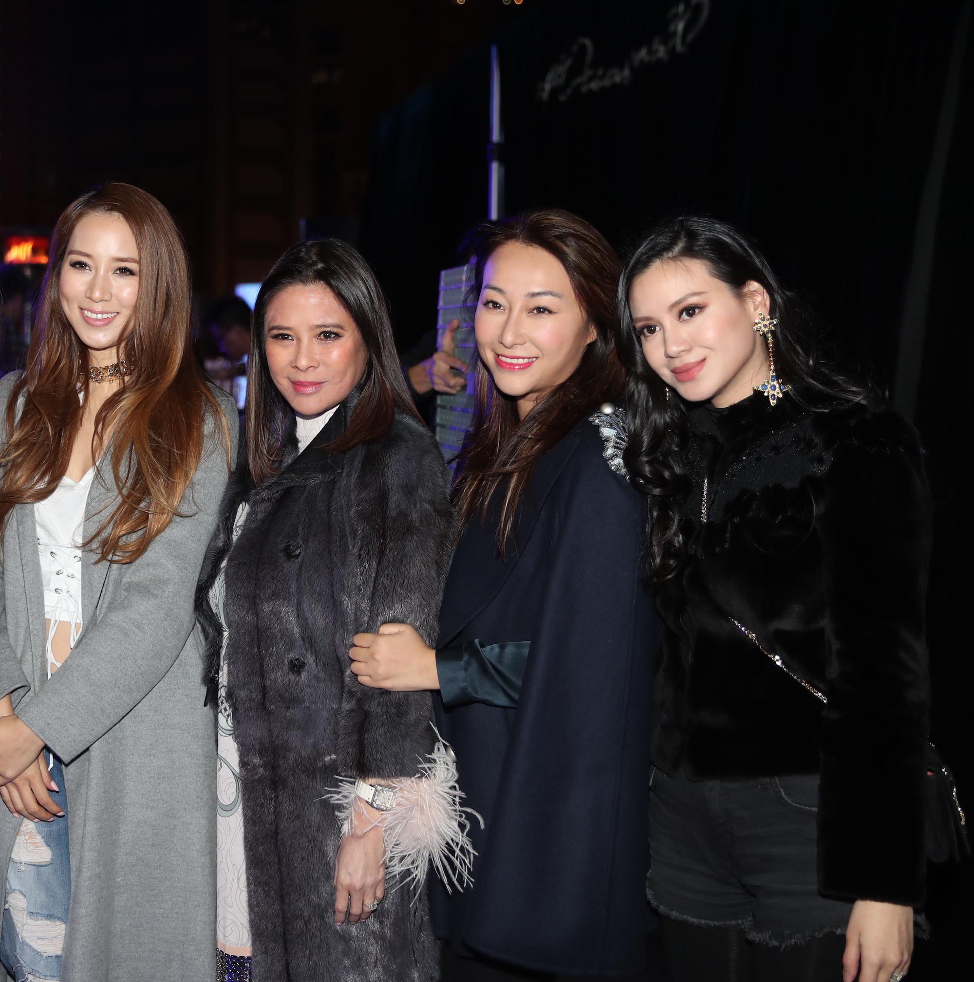 Cathy Lee, Yvette Yung, Winnie Chiu, Emily Lam-Ho