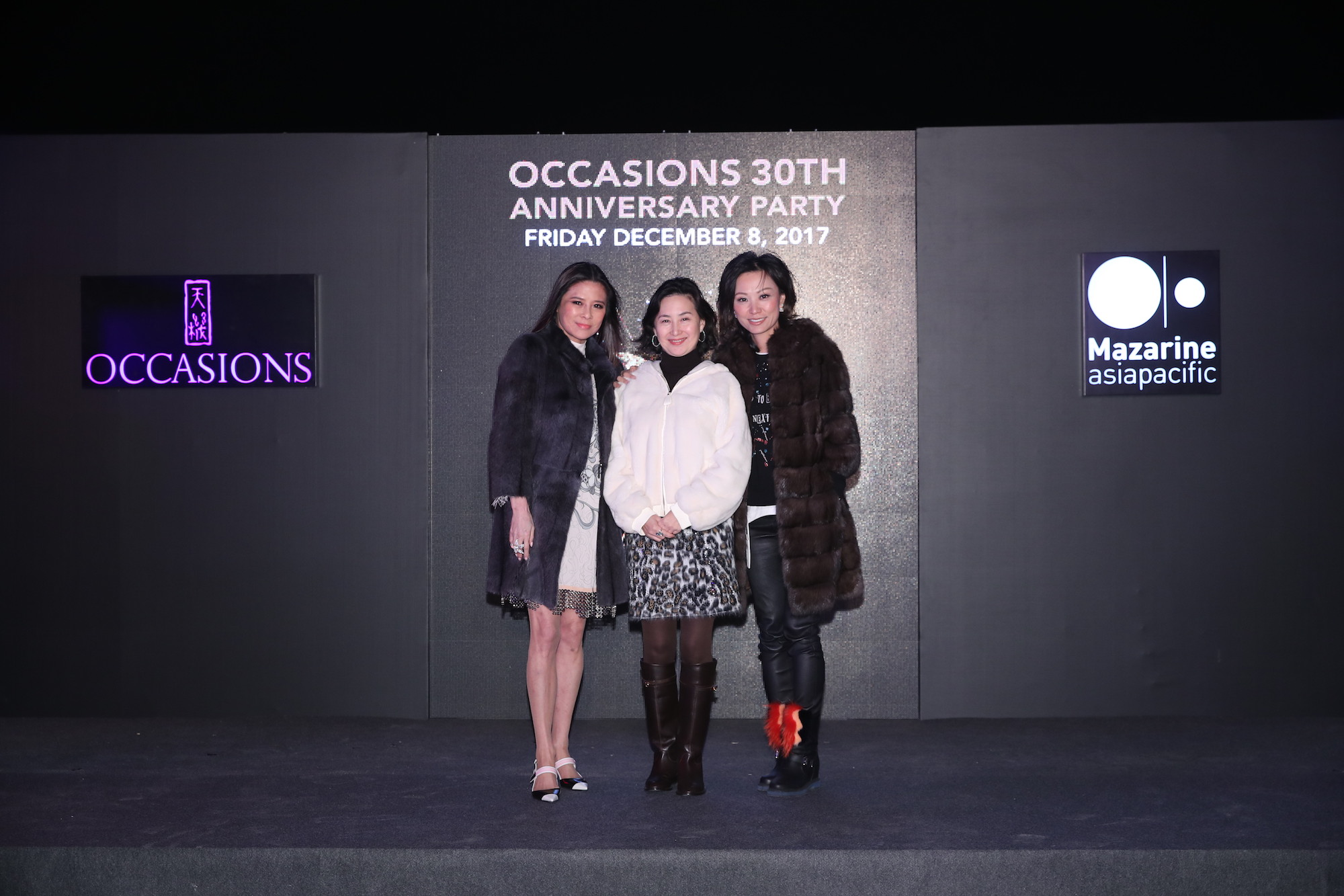 Yvette Yung, Pansy Ho, Michelle Cheng-Chan