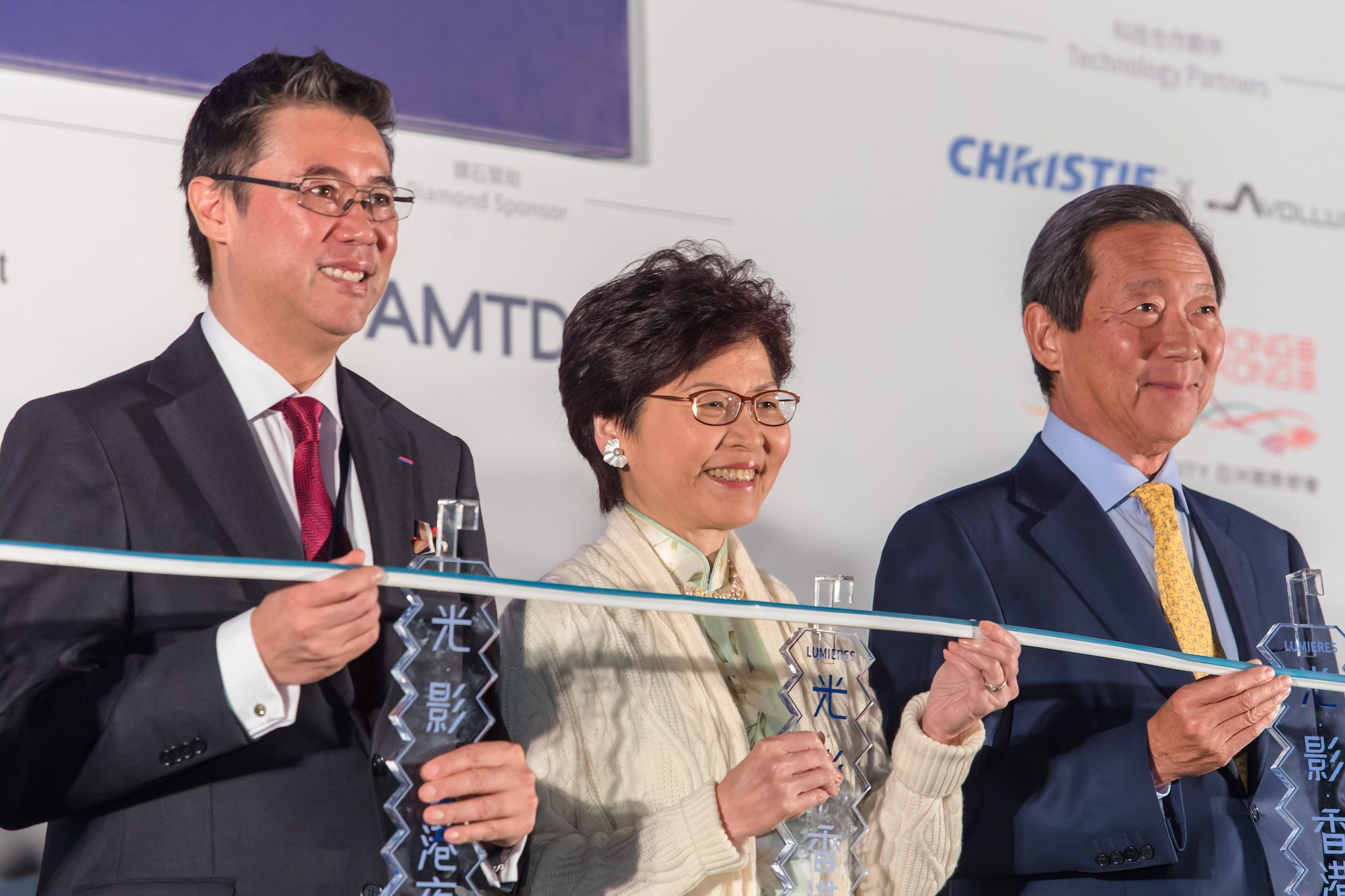 Andrew Yuen, Carrie Lam, Simon Ip
