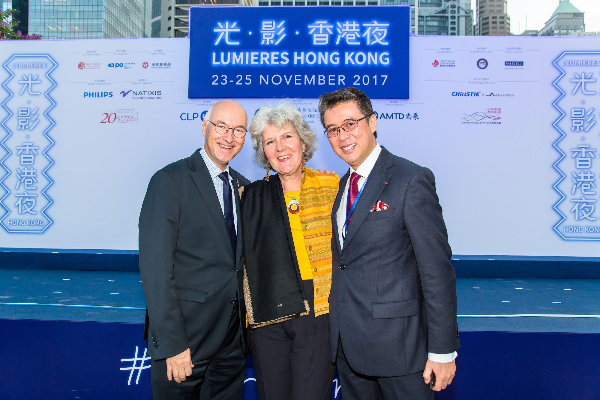 Eric Berti, Madeleine Berti, Andrew Yuen