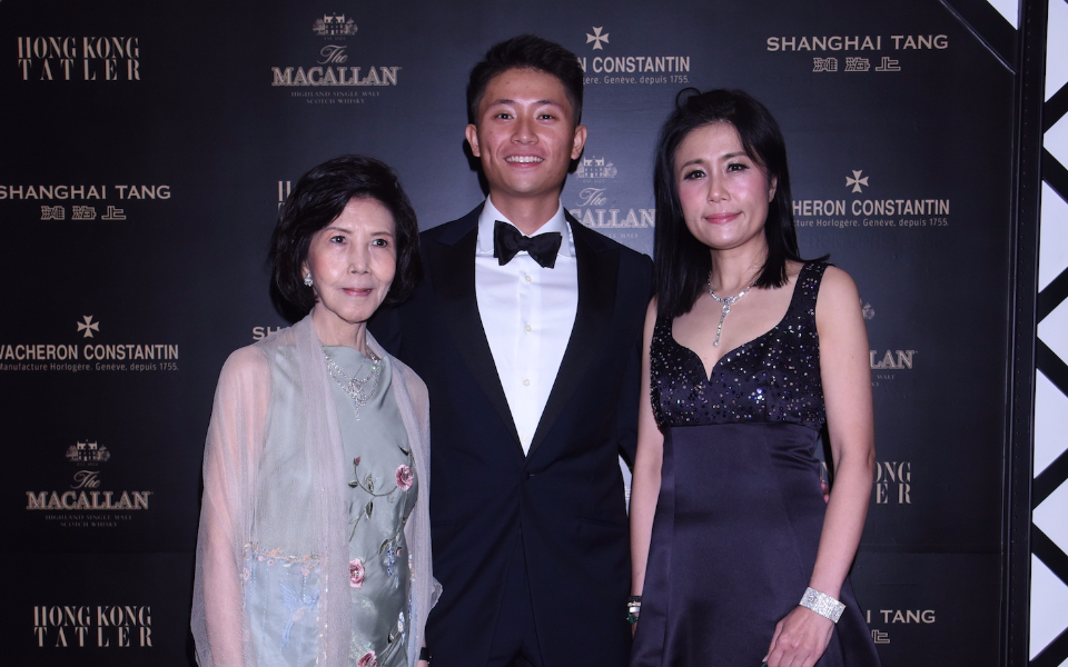 Margery Au, Alastair Wong and Denise Lo