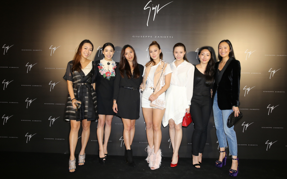 Veronica Lam, Carmen Yim, Adelene Chan, Eleanor Lam, Stephnie Shek, Ruth Chao, Chelsea Chau-Kuok