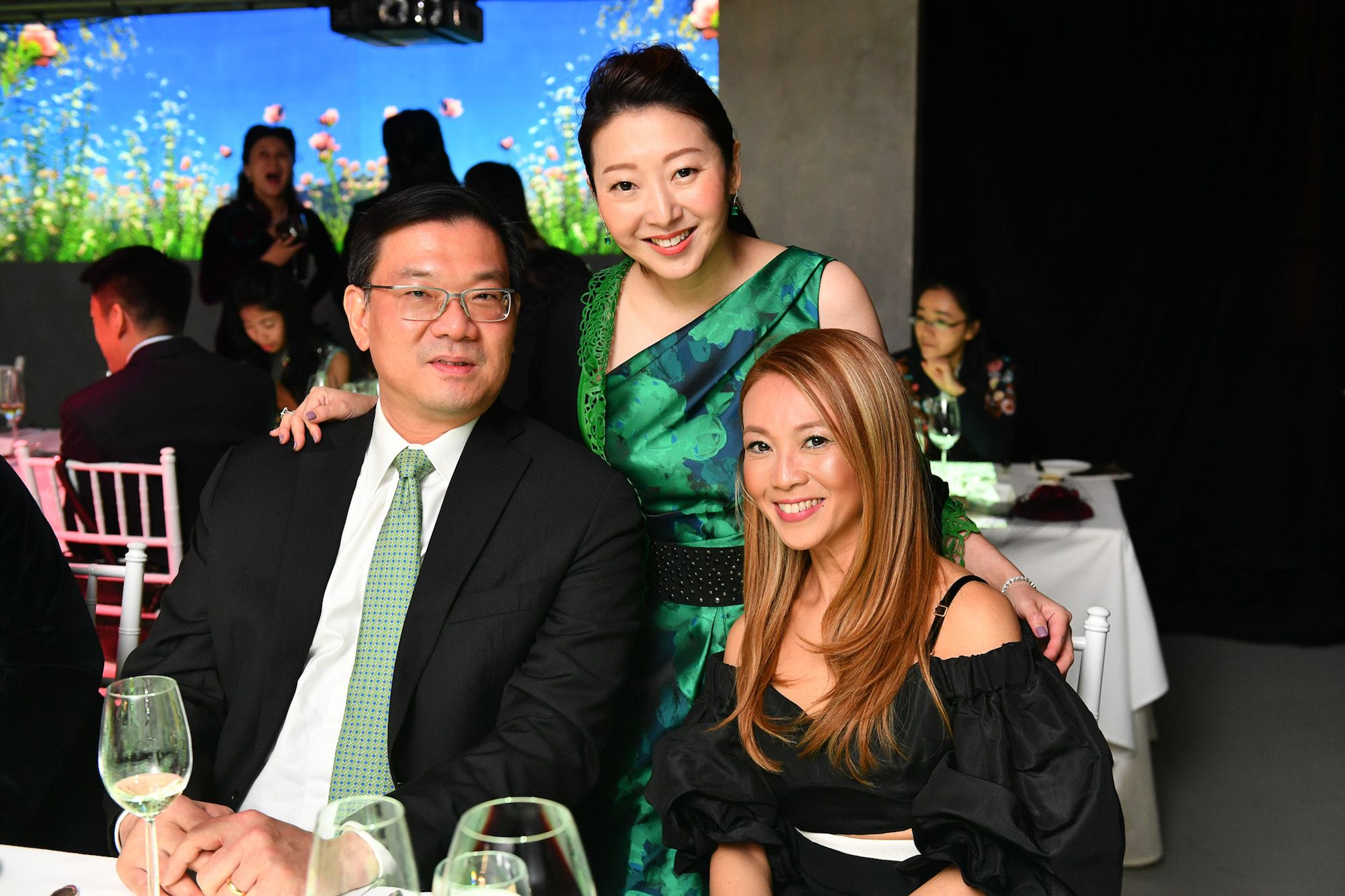 Andrew Tan, Winnie Chan, Seville Chow