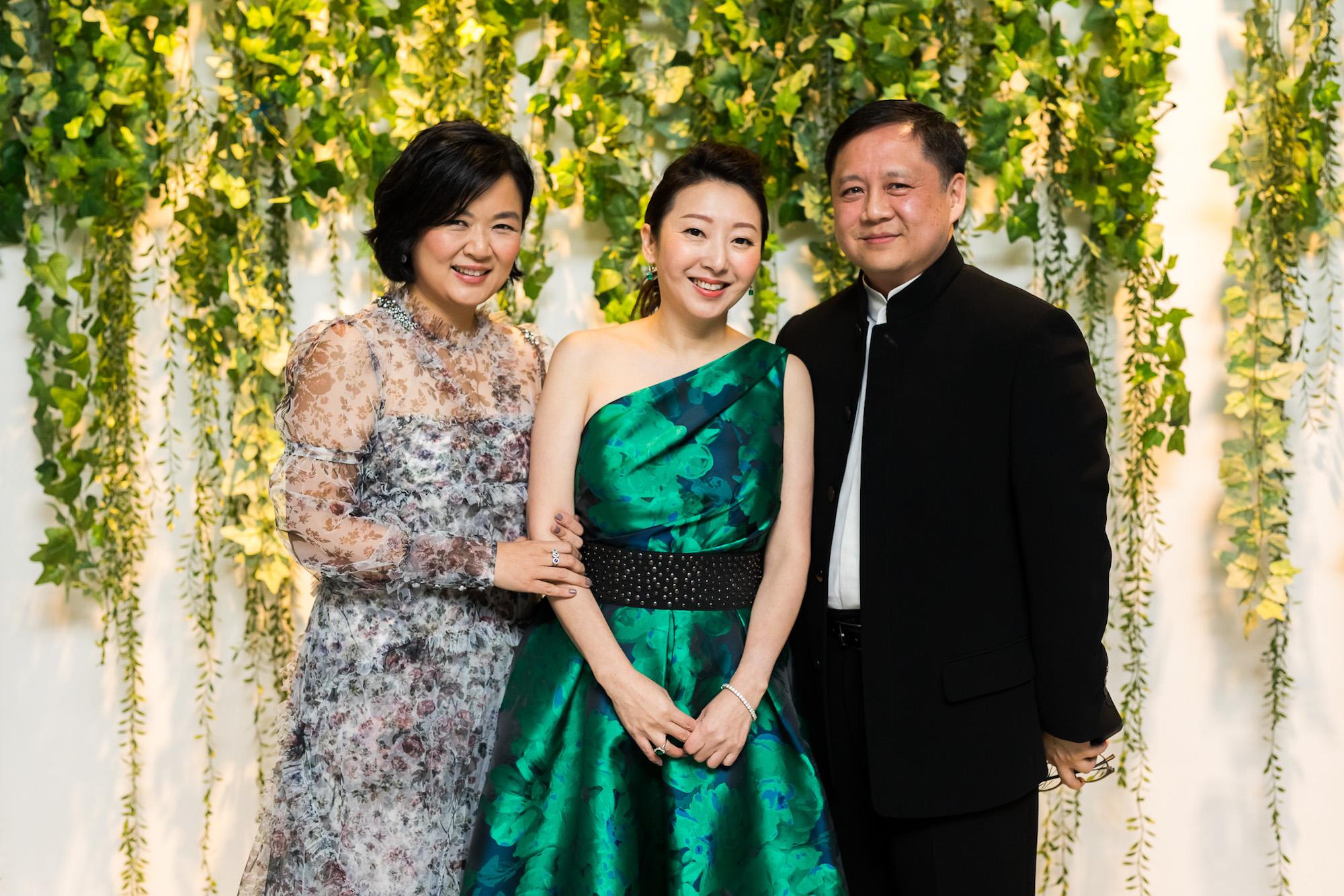 Tinyan Wong, Winnie Chan, David Wong