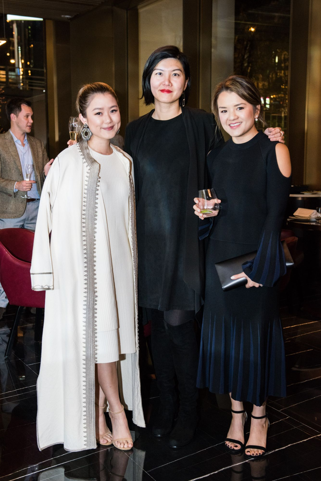 Pearl Shek, Betty Ng, Emerald Shek