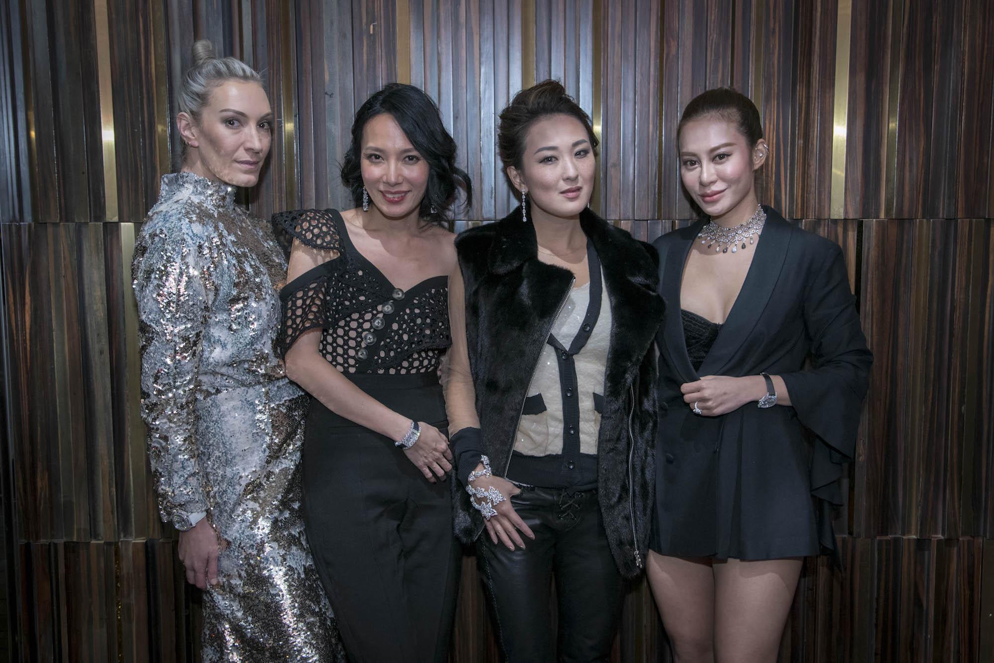 Olivia Croucher Buckingham, Jaime Ku, Antonia Li, Eleanor Lam