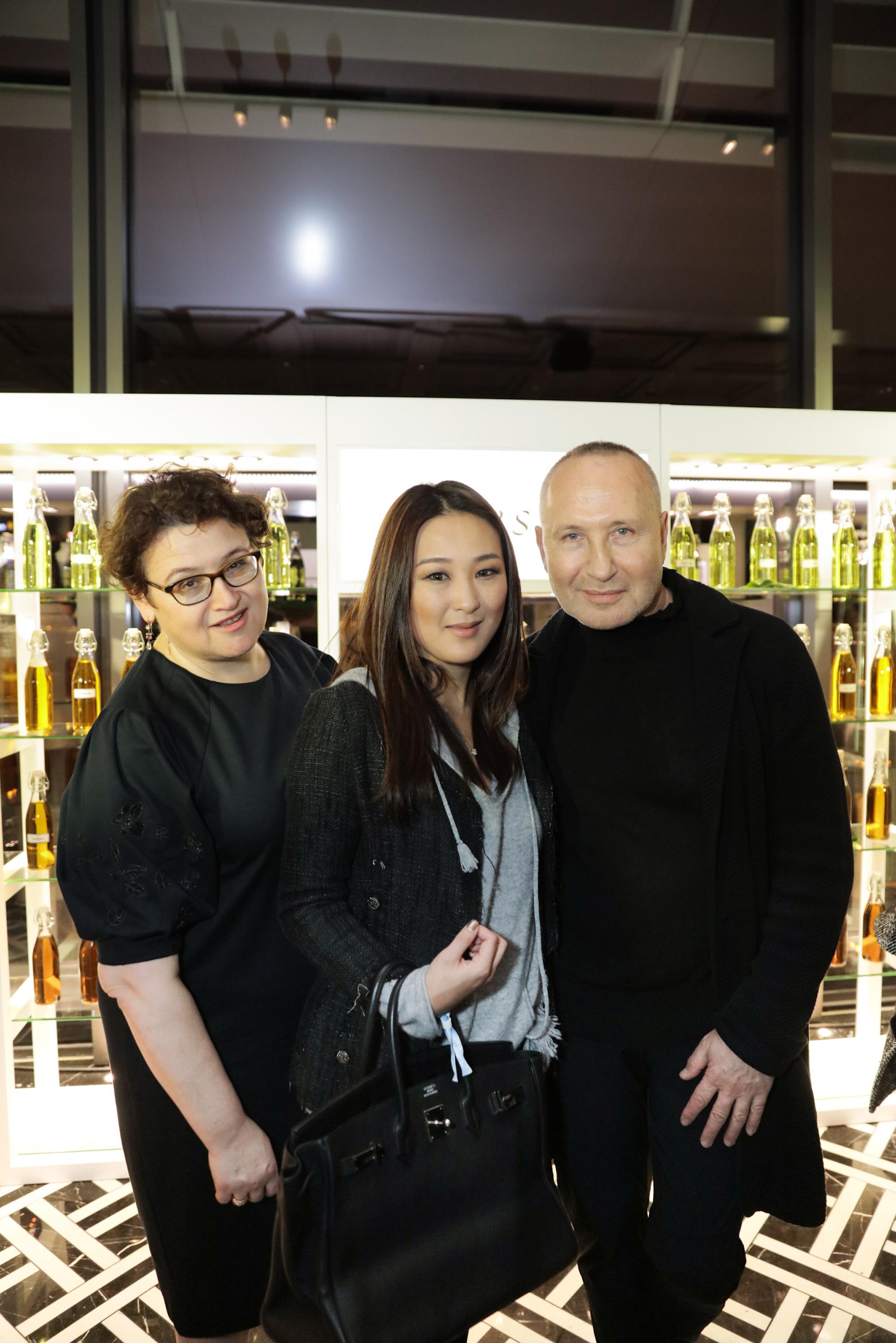 Alina Roytberg, Antonia Li, Lev Glazman