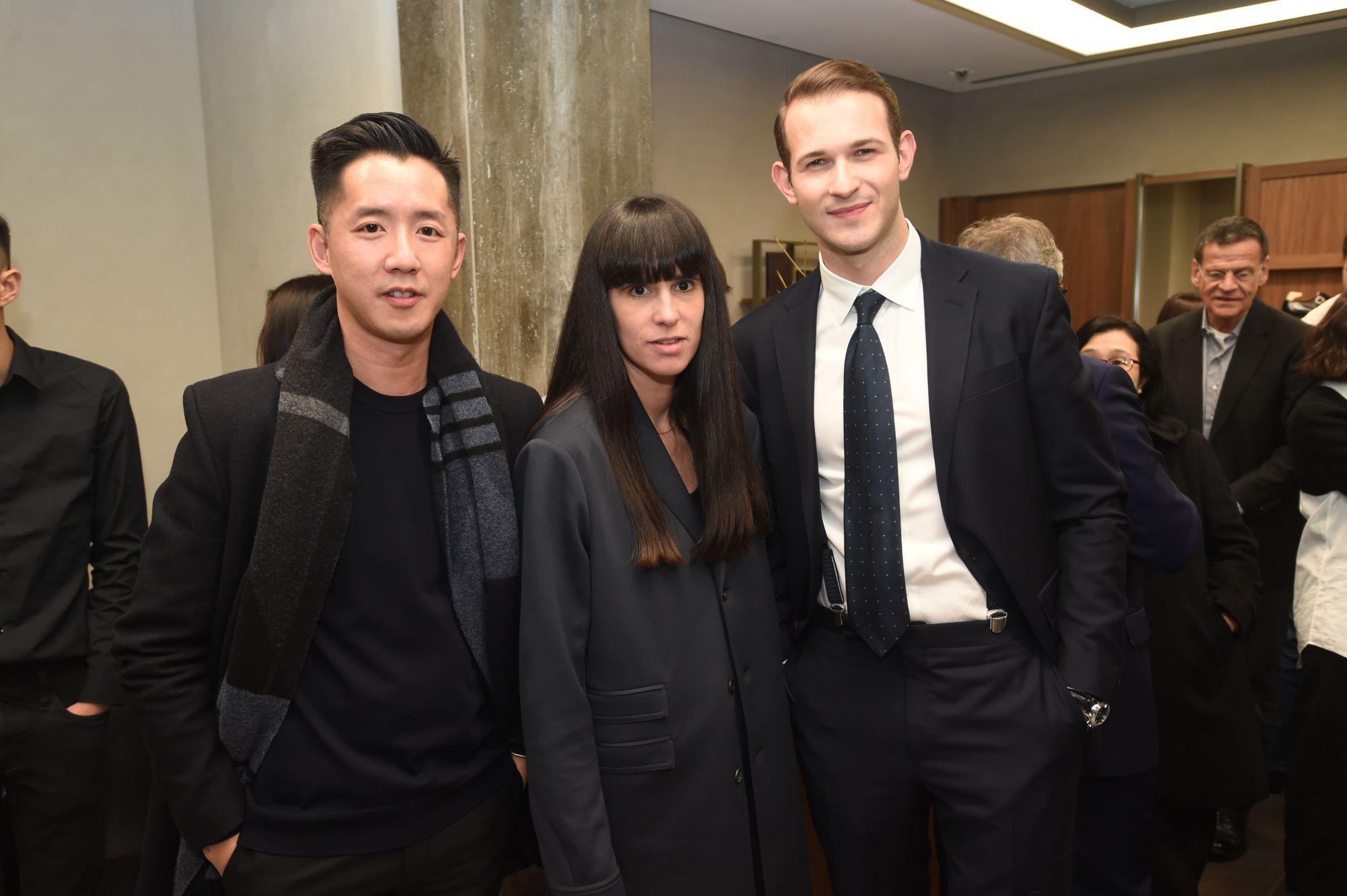 André Fu, Paula Gerbase, Luke Fehon