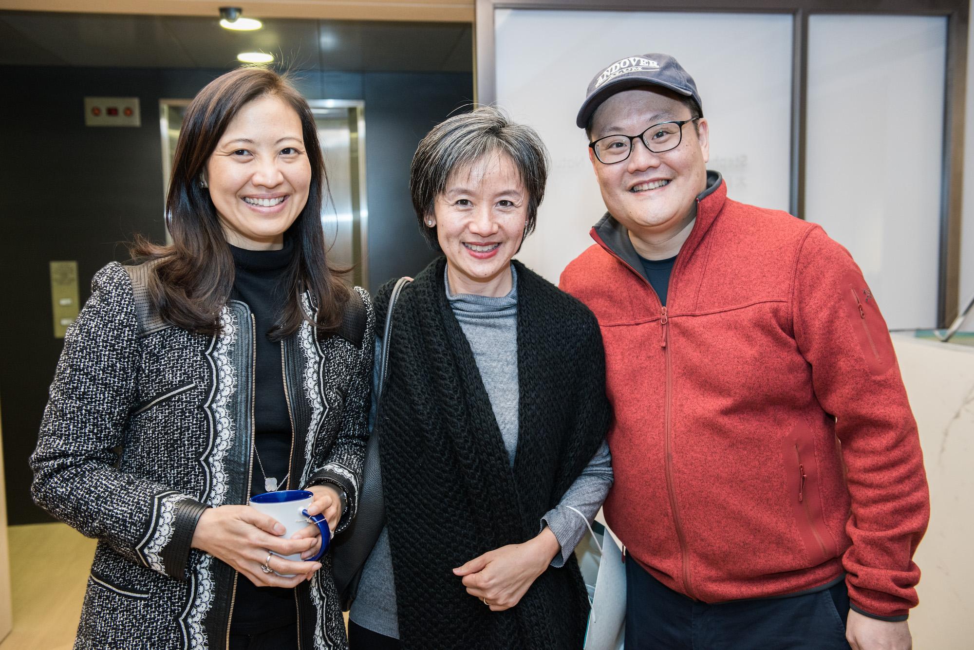 Daphne King-Yao, Grace So, Stephen King