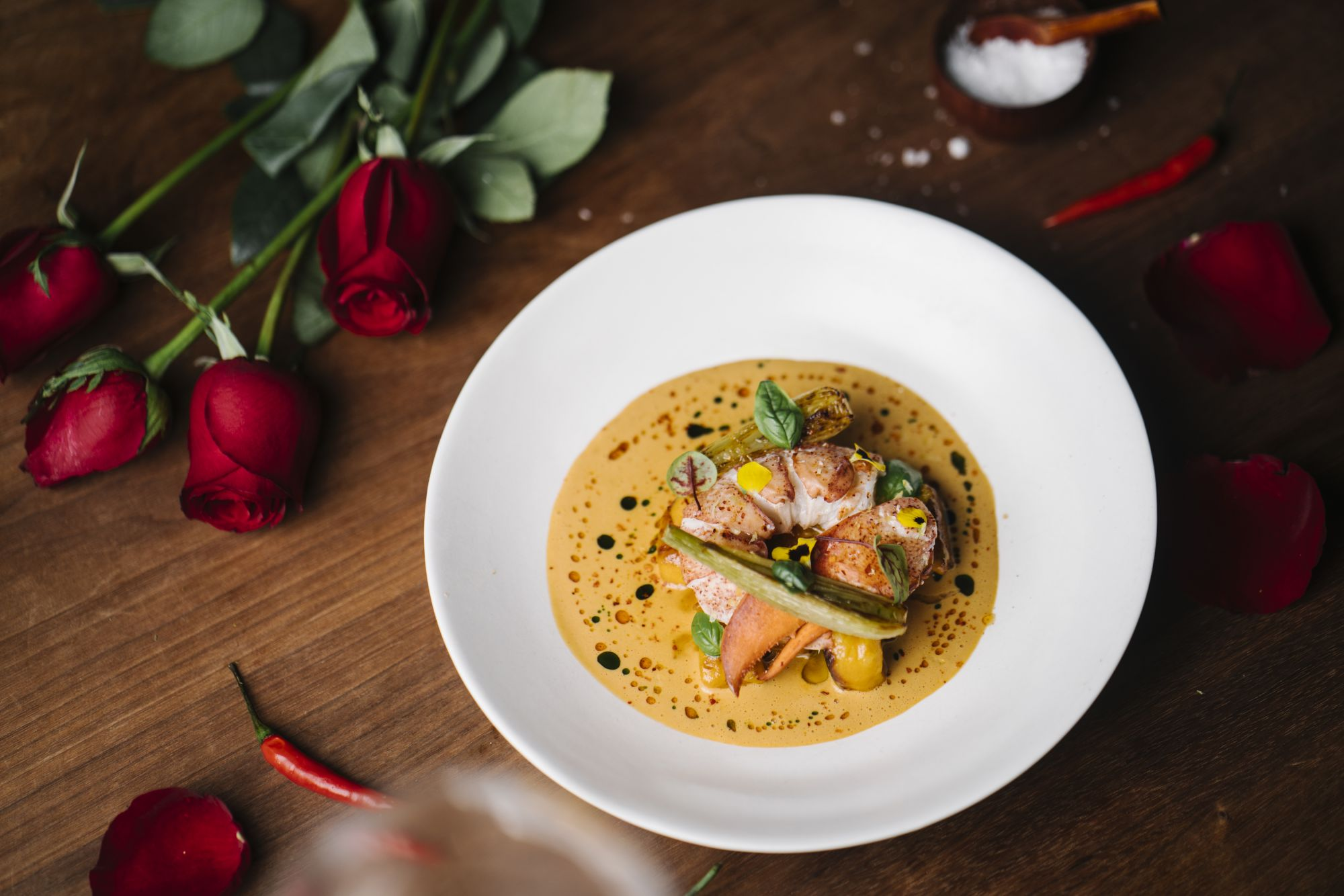 Valentine S Day Dining Guide 9 Menus In Hong Kong For A Romantic